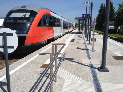 Bahnsteigelemente